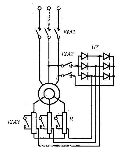 Тормоз для асинхронного электродвигателя своими руками 30